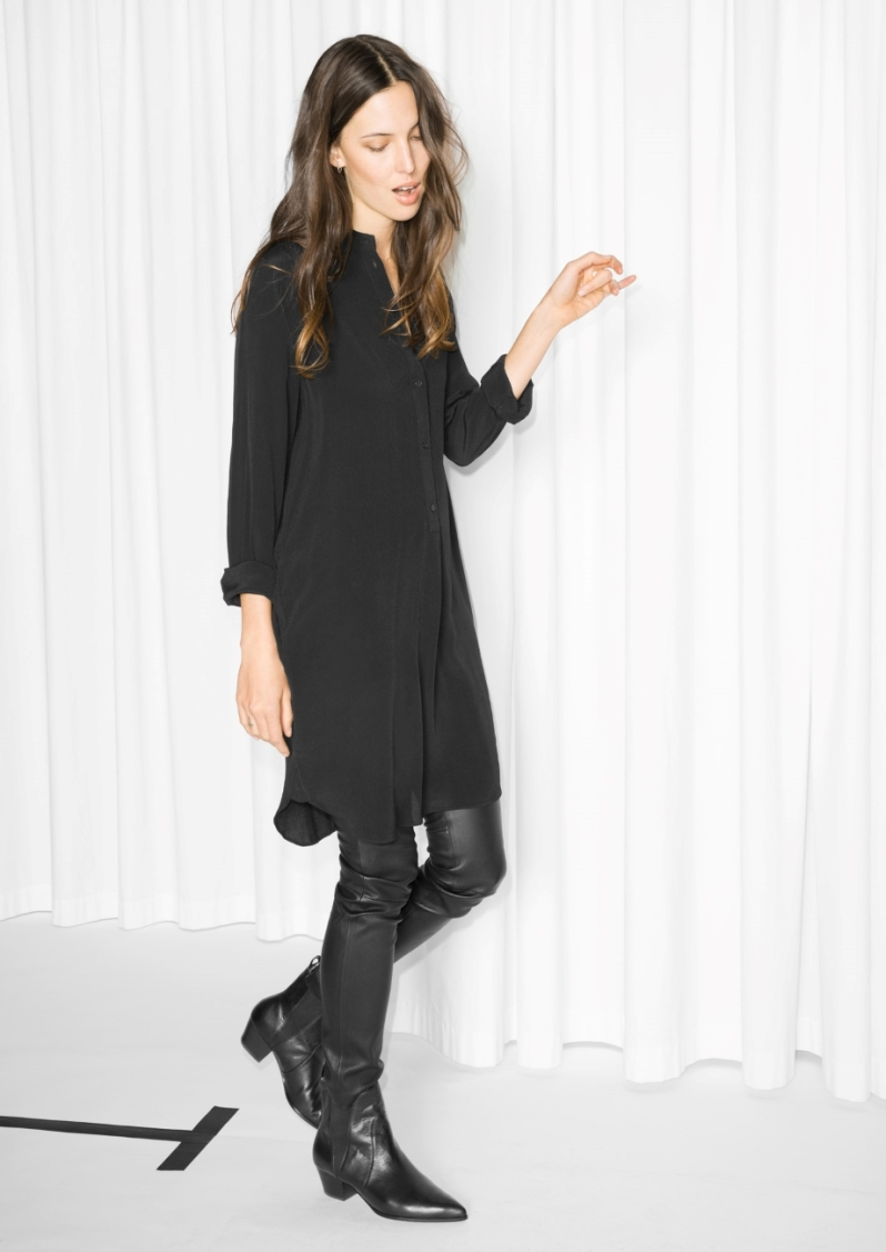 collarless-dress
