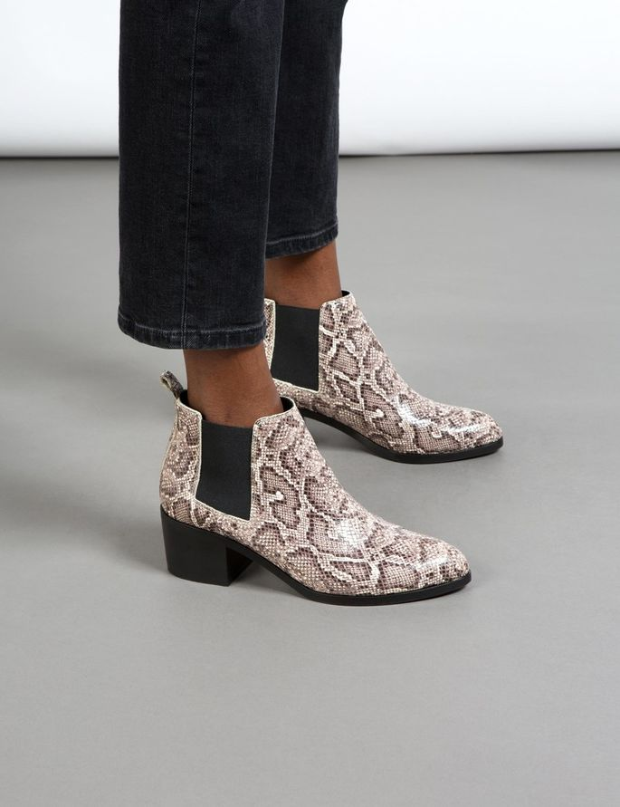 low-patent-snake-boots