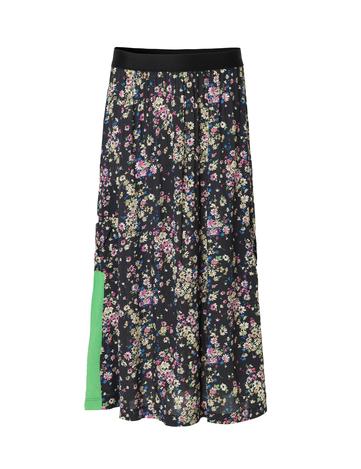 paradise-flower-sunshine-skirt-black