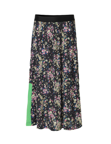 paradise-flower-sunshine-skirt-black