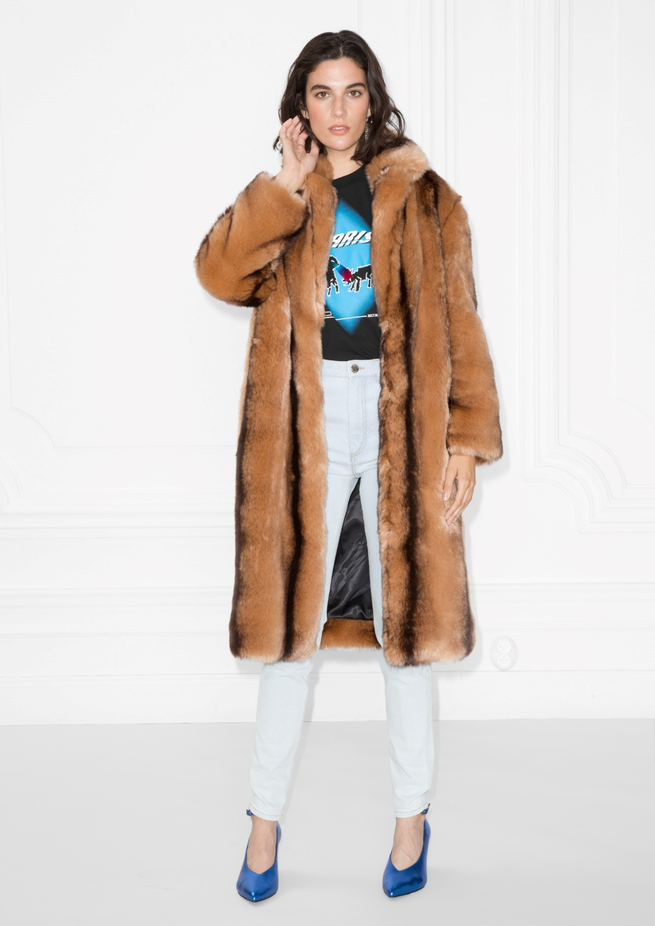 Faux Fur Coat- Andotherstories